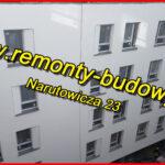 remont elewacji renowacja docieplenie łódź narutowicza 23